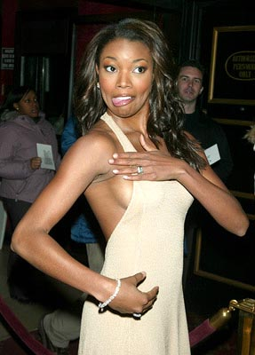 Premiere: Gabrielle Union at the New York premiere of Warner Brothers' Cradle 2 The Grave - 2/24/2003