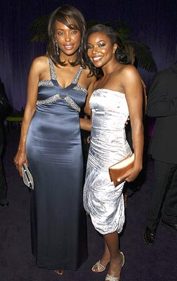 Aisha Tyler and Gabrielle Union InStyle/Warner Bros. Golden Globes Party The Palm Court at the Beverly Hilton - Beverly Hills, CA - 1/16/05