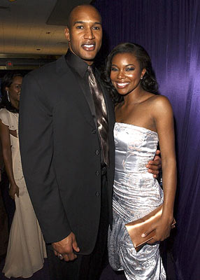 Henry Simmons and Gabrielle Union InStyle/Warner Bros. Golden Globes Party The Palm Court at the Beverly Hilton - Beverly Hills, CA - 1/16/05