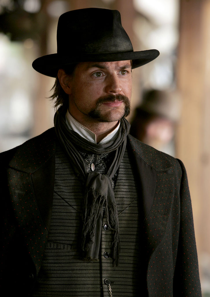 Gale Harold stars in Deadwood on HBO.