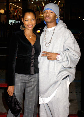 Premiere: Garcelle Beauvais-Nilon and Chingy at the Hollywood premiere of Paramount Pictures' Coach Carter - 1/13/2005