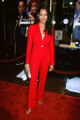 Premiere: Garcelle Beauvais at the Hollywood premiere of Touchstone's Double Take - 1/10/2001 Garcelle Beauvais