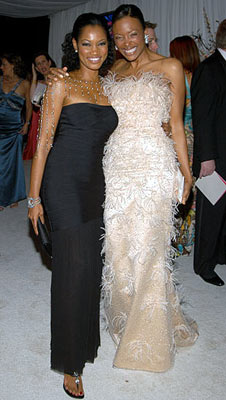 Garcelle Beauvais-Nilon and Aisha Tyler 13th Annual Elton John AIDS Foundation Oscar Party West Hollywood, CA - 2/27/05