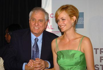 Garry Marshall and Amber Valletta Tribeca Film Festival, May 1, 2004