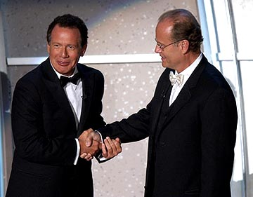 Garry Shandling and Kelsey Grammer Emmy Awards - 9/19/2004