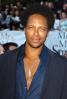 Premiere: Gary Dourdan at the Los Angeles premiere of 20th Century Fox's Mr. & Mrs. Smith - 6/7/2005
