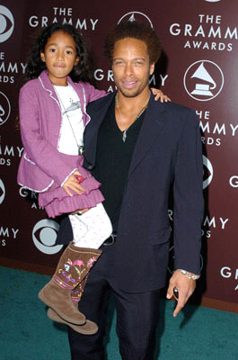 Gary Dourdan with daughter Nyla The 47th Annual GRAMMY Awards - Arrivals Staples Center - Los Angeles, CA - 2/13/05