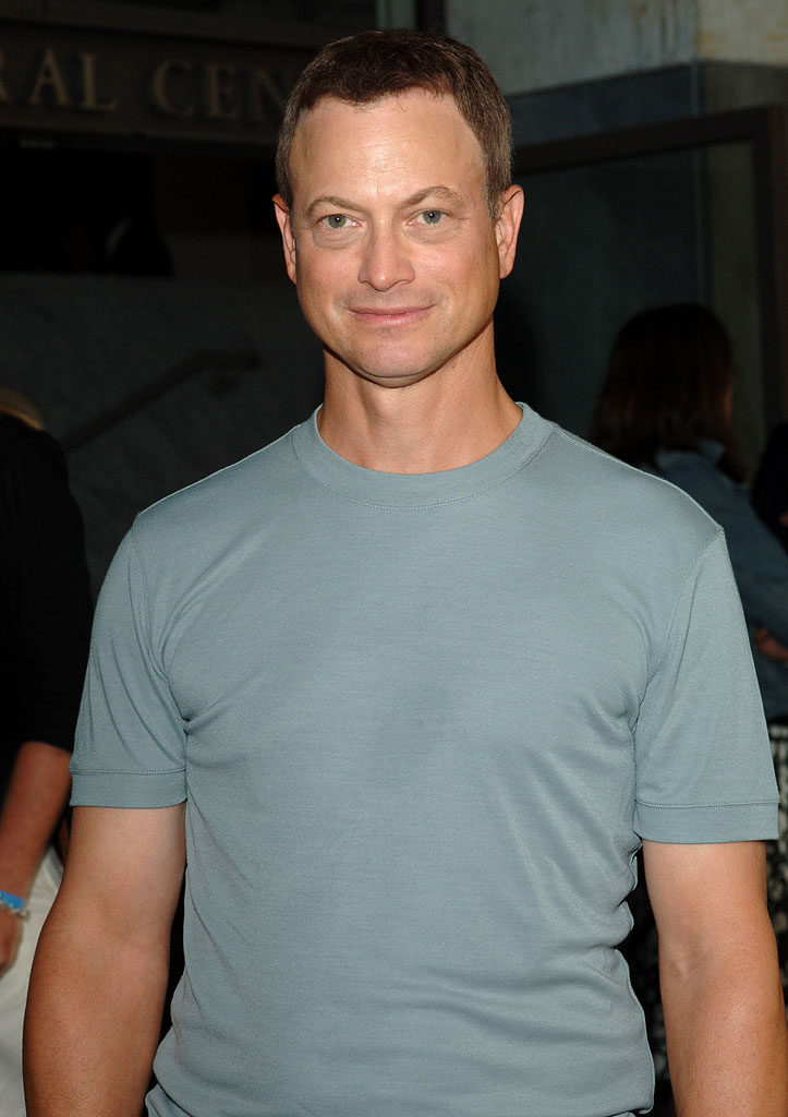 "Gary Sinise of ""CSI: New York"" at the CBS 2005 TCA Party."