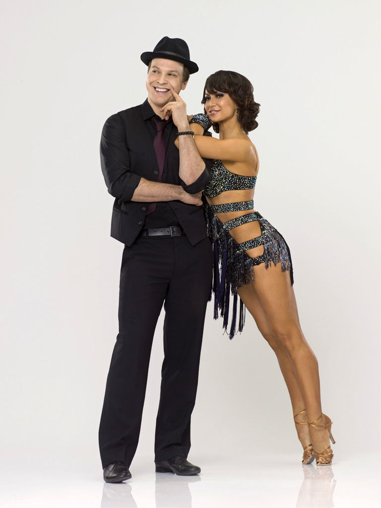 "Gavin DeGraw teams with professional dancer Karina Smirnoff on Season 14 of ""Dancing With the Stars."""