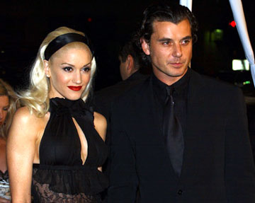 Premiere: Gwen Stefani and Gavin Rossdale at the Hollywood premiere of Warner Bros. Pictures' Constantine - 2/16/2005
