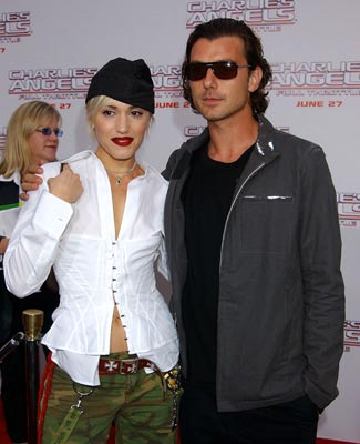 Premiere: Gwen Stefani and Gavin Rossdale at the LA premiere of Columbia's Charlie's Angels: Full Throttle - 6/18/2003