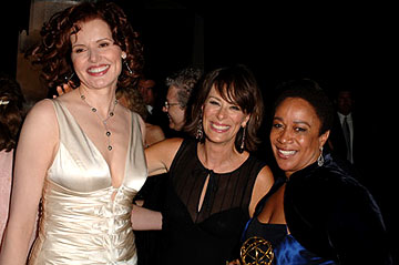 Geena Davis, Jane Kaczmarek and S. Epatha Merkerson Governor's Ball Emmy Awards - 9/18/2005
