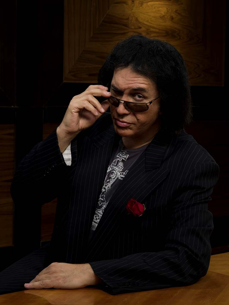 Gene Simmons competes in the 7th season of The Apprentice.