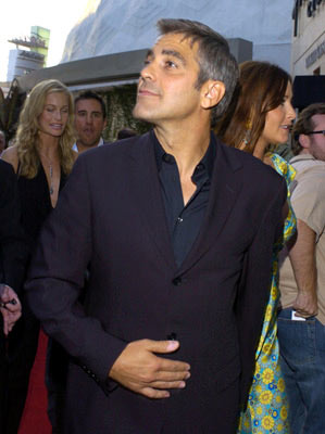 Premiere: George Clooney at the Hollywood premiere of Universal Pictures' The Bourne Supremacy - 7/16/2004