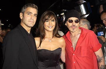 Premiere: George Clooney, Catherine Zeta Jones and Billy Bob Thornton at the LA premiere of Universal's Intolerable Cruelty - 10/1/2003