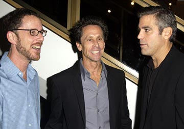 Premiere: Ethan Coen, Brian Grazer, George Clooney at the LA premiere of Universal's Intolerable Cruelty - 10/1/2003