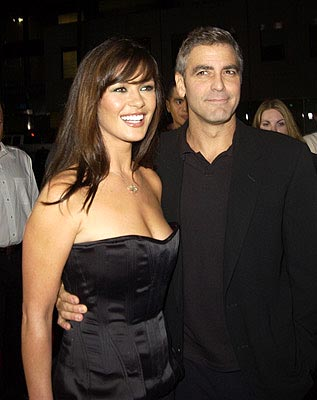 Premiere: Catherine Zeta Jones and George Clooney at the LA premiere of Universal's Intolerable Cruelty - 10/1/2003