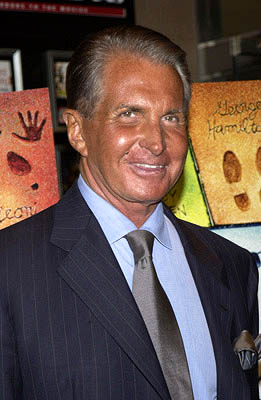 Premiere: George Hamilton at the New York premiere of Dreamworks' Hollywood Ending - 4/23/2002