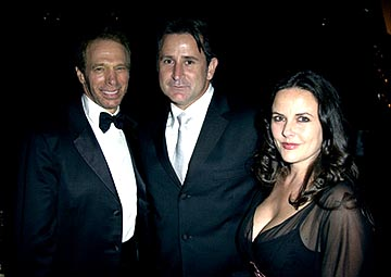 Jerry Bruckheimer, Anthony LaPaglia, Gia Carides The Governor's Ball 55th Annual Emmy Awards After Party - 9/21/2003