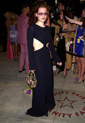 Gillian Anderson 73rd Academy Awards Vanity Fair Party Beverly Hills, CA 3/25/2001
