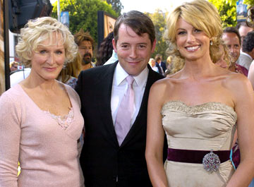 Premiere: Glenn Close, Matthew Broderick and Faith Hill at the Los Angeles premiere of Paramount's The Stepford Wives - 6/6/2004