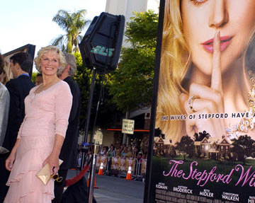 Premiere: Glenn Close at the Los Angeles premiere of Paramount's The Stepford Wives - 6/6/2004