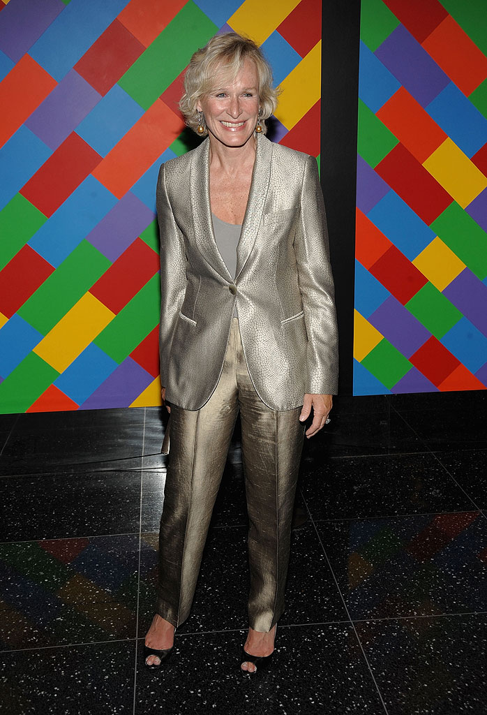 Glenn Close attends the 41st annual Party in the Garden at The Museum of Modern Art on May 26, 2009 in New York City.