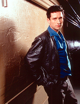 Glenn Quinn as Doyle in WB's Angel