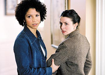 "Gloria Reuben and Caterina Scorsone Lifetime's ""1-800-Missing"""