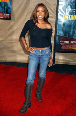 Premiere: Golden Brooks at the Los Angeles premiere Paramount Pictures' Without a Paddle - 8/16/2004