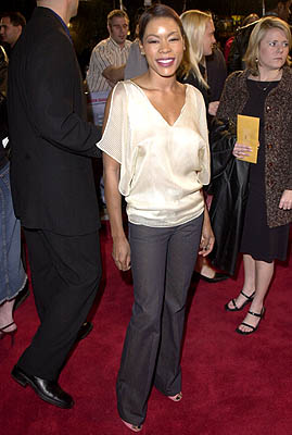 Premiere: Golden Brooks at the Westwood premiere of Warner Brothers' Exit Wounds - 3/13/2001