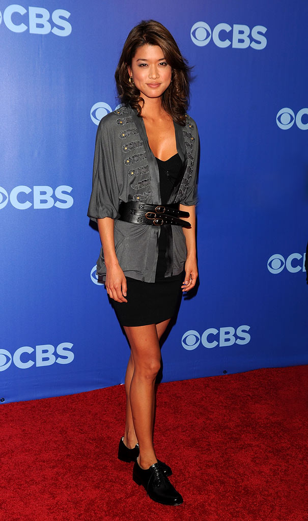 "Grace Park (""Hawaii Five-O"") attends the 2010 CBS UpFront at Damrosch Park, Lincoln Center on May 19, 2010 in New York City."
