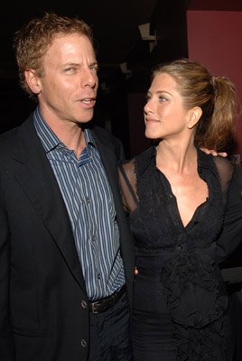 Premiere: Greg Germann and Jennifer Aniston at the LA premiere of Sony Pictures Classics' Friends With Money - 3/27/2006