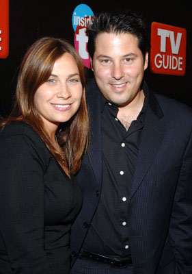 Greg Grunberg and guest TV Guide & Inside TV After Party Emmy Awards - 9/18/2005