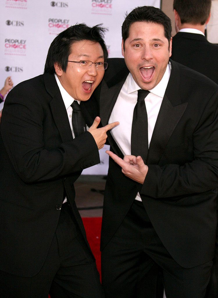 Masi Oka and Greg Grunberg at The 33rd Annual People's Choice Awards.