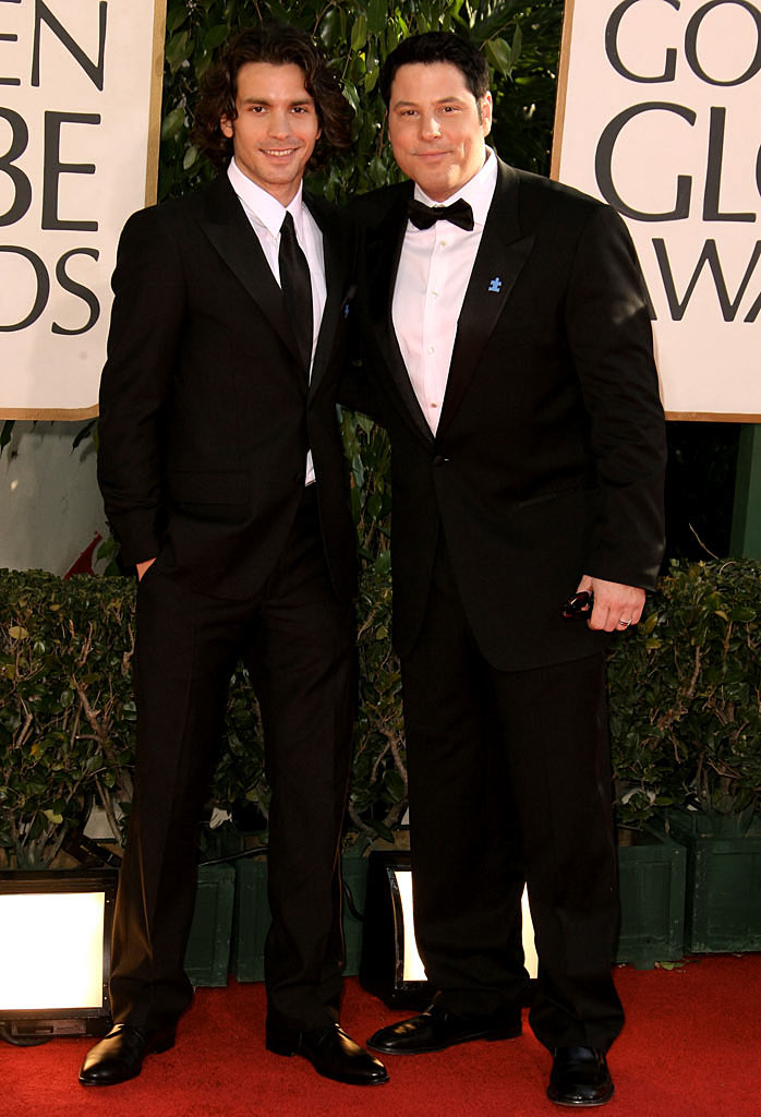 Santiago Cabrera and Greg Grunbergat the 64th annual Golden Globe Awards.
