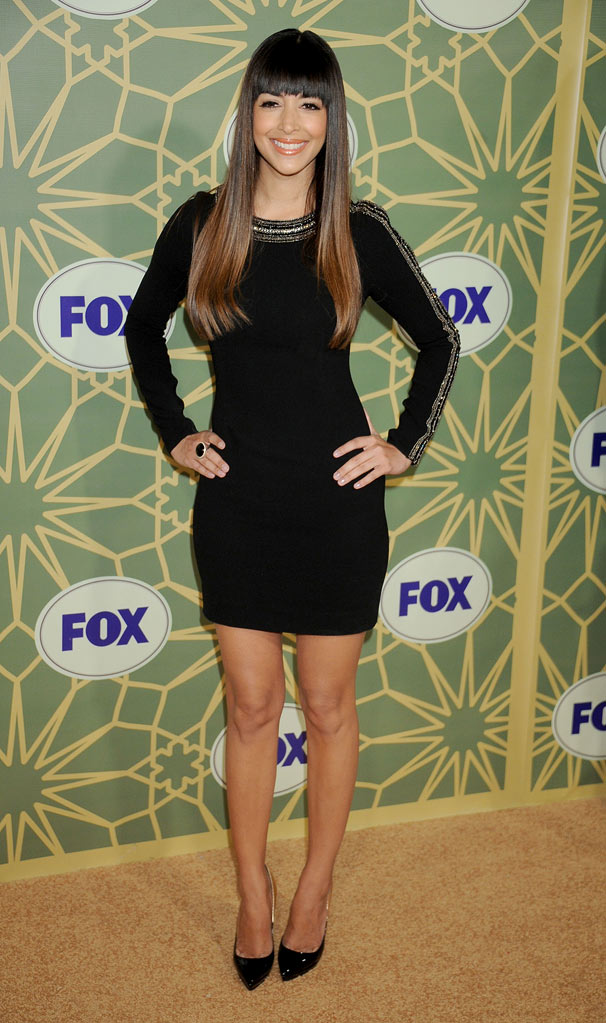 "Hannah Simone (""New Girl"") attends the 2012 Fox Winter TCA All-Star Party at Castle Green on January 8, 2012 in Pasadena, California."