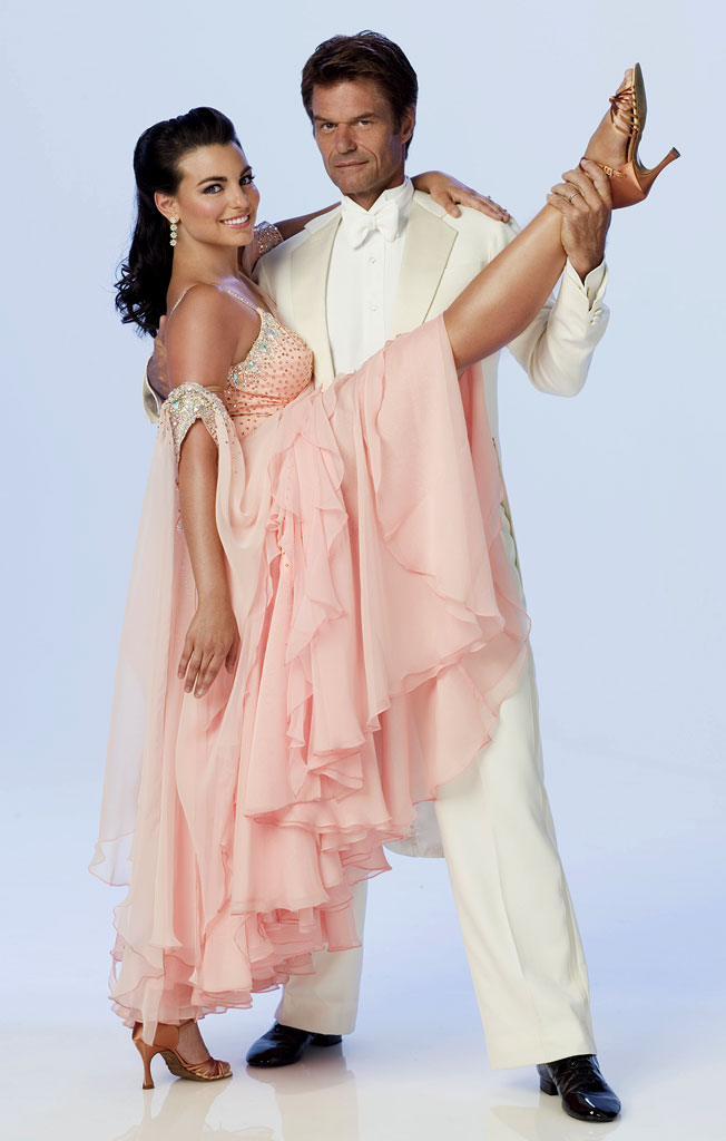 Actor Harry Hamlin teams up with professional dancer Ashly Delgrosso for Season 3 of Dancing with the Stars