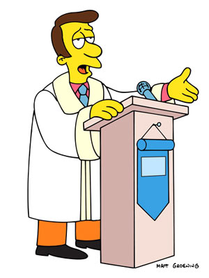Rev. Lovejoy (voiced by Harry Shearer) Fox's The Simpsons