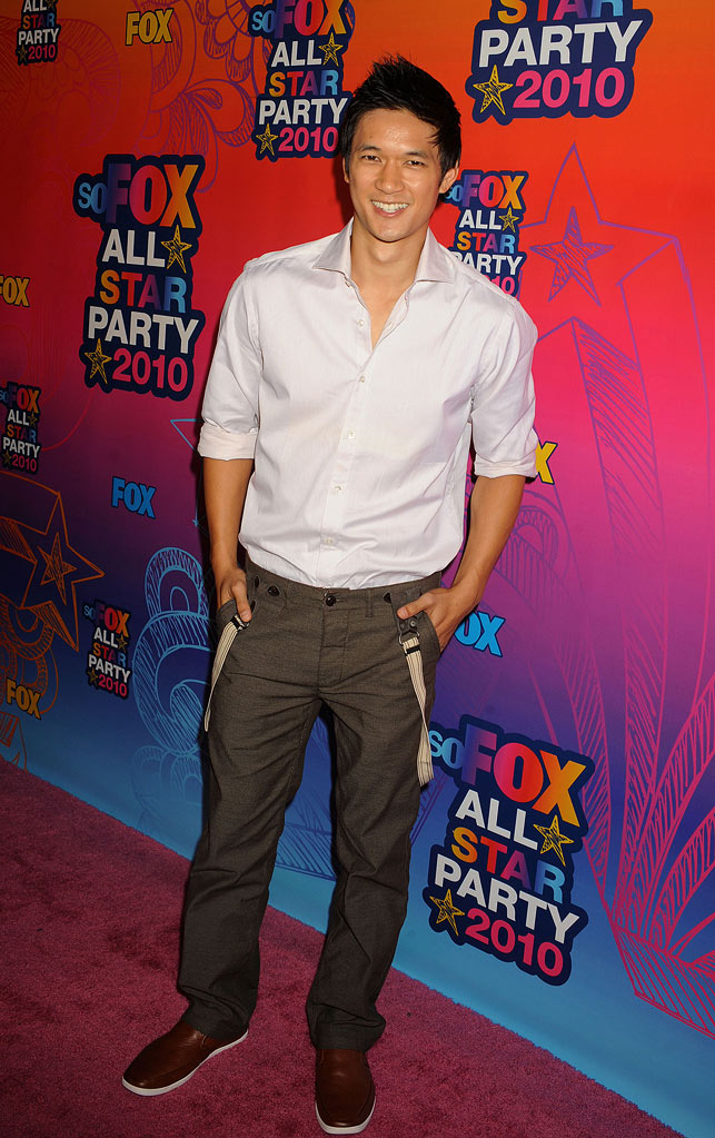 """Glee's"" Harry Shum Jr. arrives at the Fox 2010 Summer TCA All-Star Party on August 2, 2010 in Santa Monica, California."