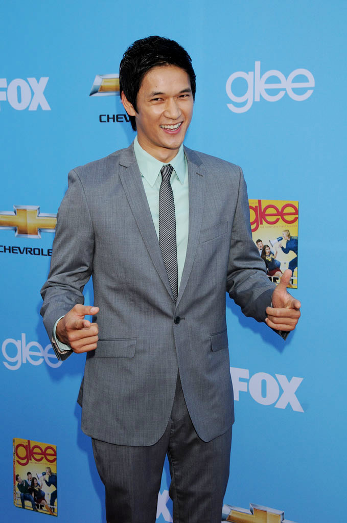 "Harry Shum Jr. attends the ""Glee"" Season 2 Premiere Screening and DVD Release Party at Paramount Studios on September 7, 2010, in Hollywood."