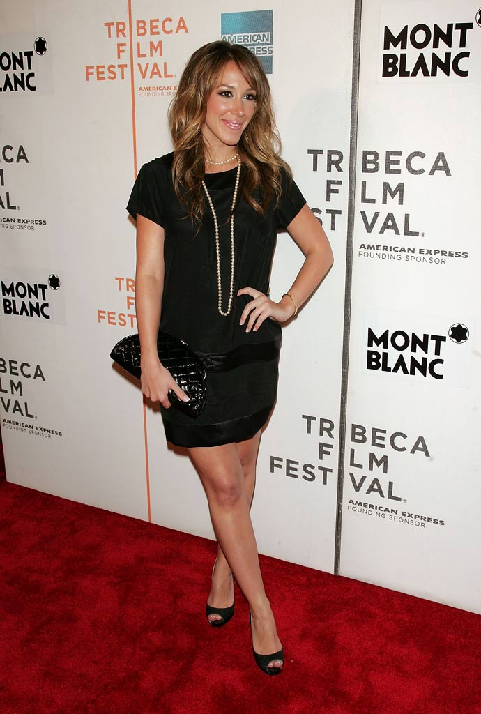 "Haylie Duff arrives at the 7th Annual Tribeca Film Festival  ""War, Inc."" premiere at TPAC on April 29, 2008 in New York City."