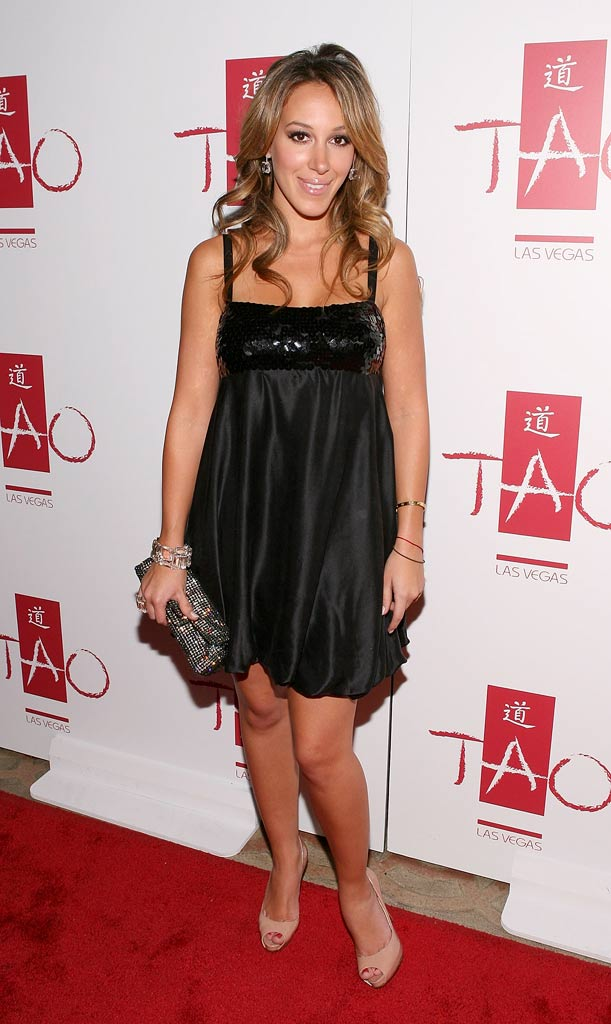 Haylie Duff arrives at the Tao Las Vegas 2nd Anniversary Weekend party at Tao Nightclub on November 10, 2007 in Las Vegas, Nevada.
