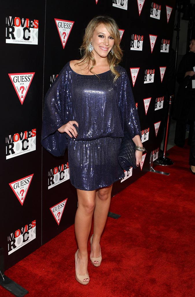Haylie Duff attends the Movies Rock pre-party presented by GUESS and Conde Nast at St. Vibiana's Cathedral on November 29, 2007 in Los Angeles, California.