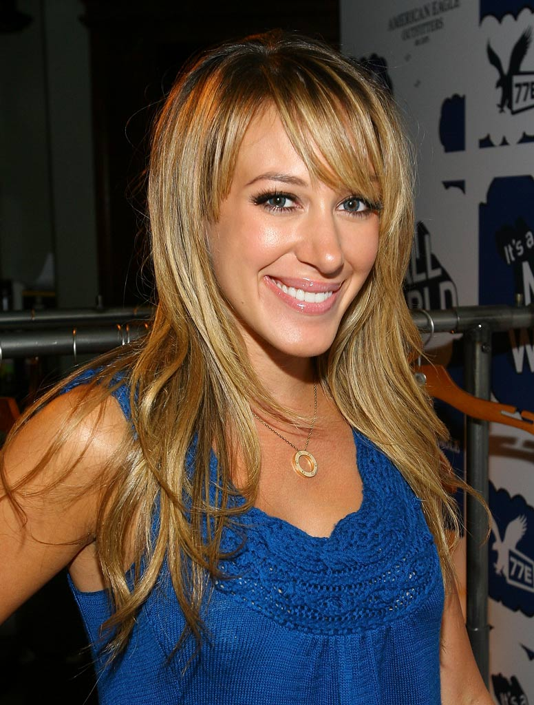 "Haylie Duff at the American Eagle Outfitters Launch of the Original Series ""It's A Mall World"" Directed By Milo Ventimiglia after party at the Cabana Club in Los Angeles, California on July 31, 2007."