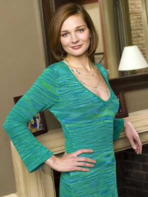 "Heather Burns as Stella Mason NBC's ""20 Good Years"""