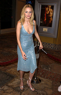 Premiere: Heather Graham at the Westwood premiere of From Hell - 10/17/2001