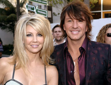 Premiere: Heather Locklear and Richie Sambora at the Universal City premiere of Universal Pictures' The Perfect Man - 6/13/2005