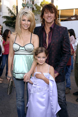 Premiere: Heather Locklear and Richie Sambora  with daughter Ava Elizabeth at the Universal City premiere of Universal Pictures' The Perfect Man - 6/13/2005
