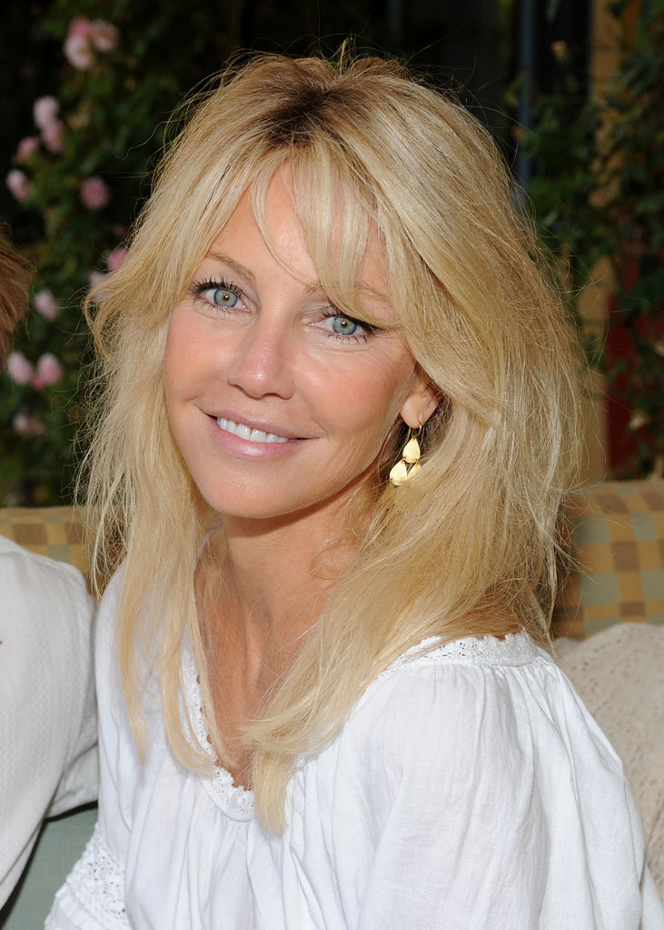 "Heather Locklear attends the Michael J. Fox Foundation's L.A. Event ""A Sunny Thing Happened On The Way To Cure Parkinson's"" held at a private residence on May 30, 2009 in Topanga, California."